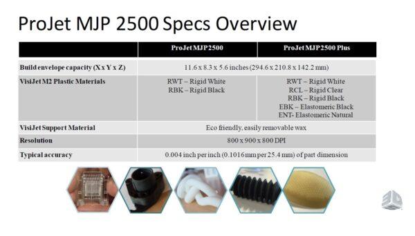 ProJet 2500 MultiJet Printer