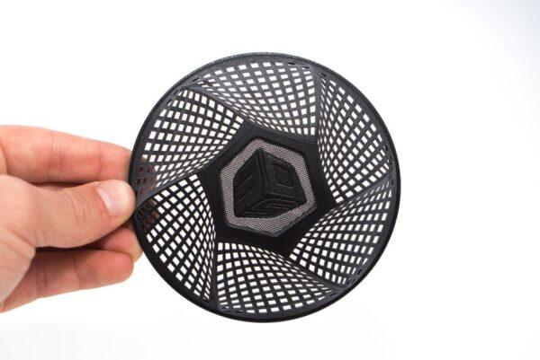 VisiJet M2 EBK Elastomeric Material - Black (1.5kg bottle)