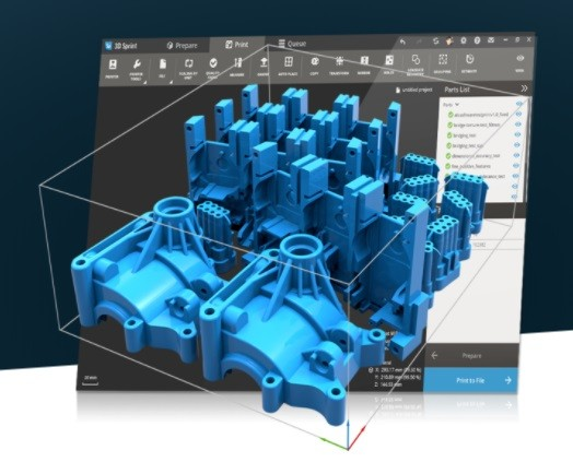 3DSprint software for 3D Printing