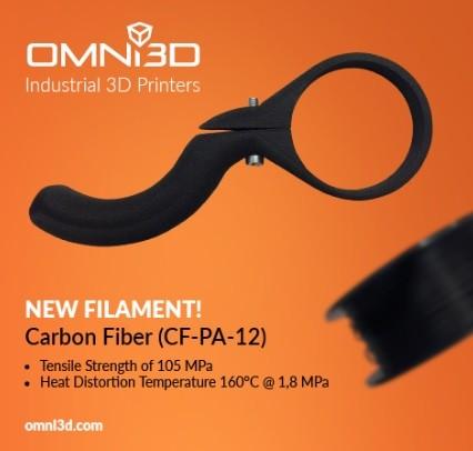Carbon-filled Nylon