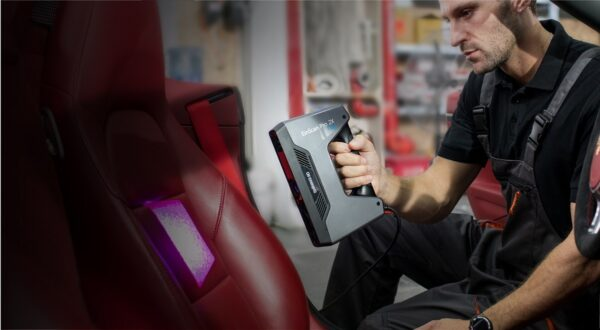 Einscan Pro 2X Plus - Multi-Functional Handheld 3D Scanner