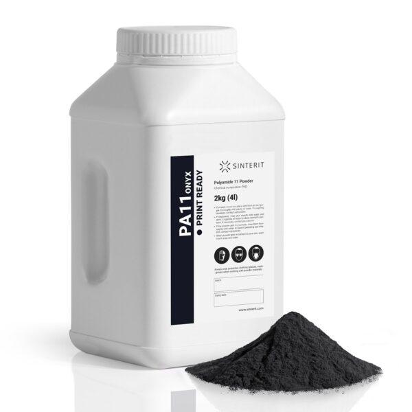 SLS Powder – Nylon PA11 Onyx PRINT READY (2kg)