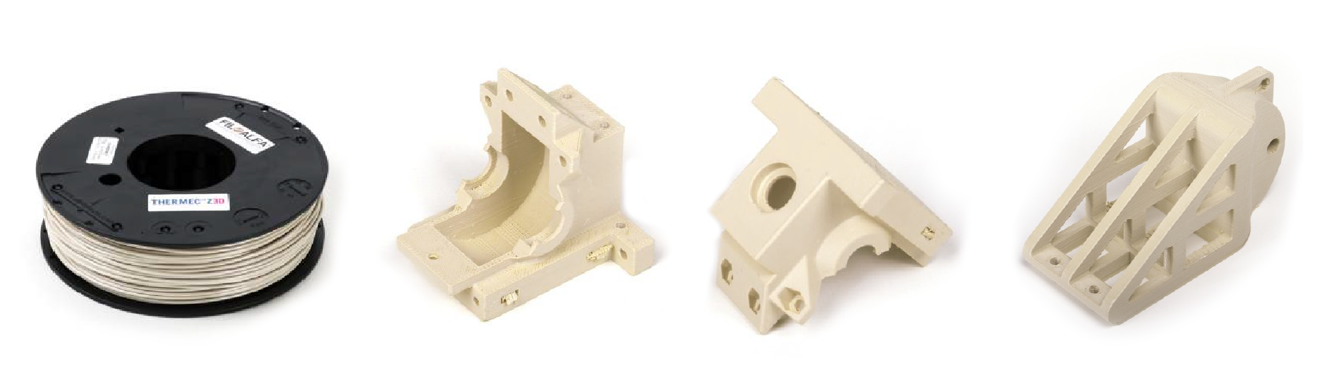 ThermecZed FIlament and printed parts