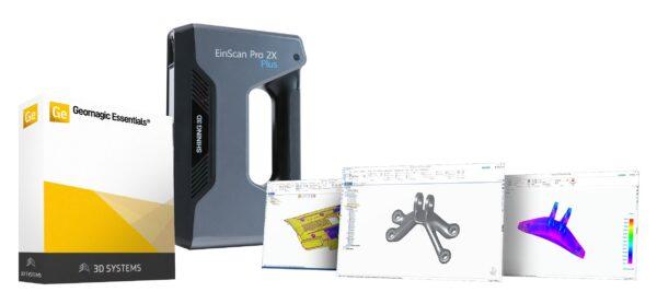 EinScan-Pro 2X with Geomagic Essentials