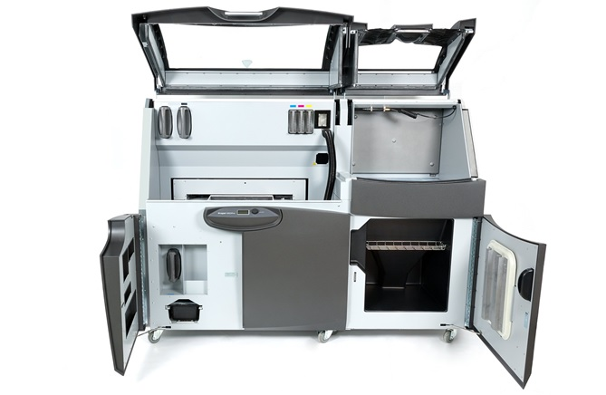 ProJet 660 Pro 3D Printer inside