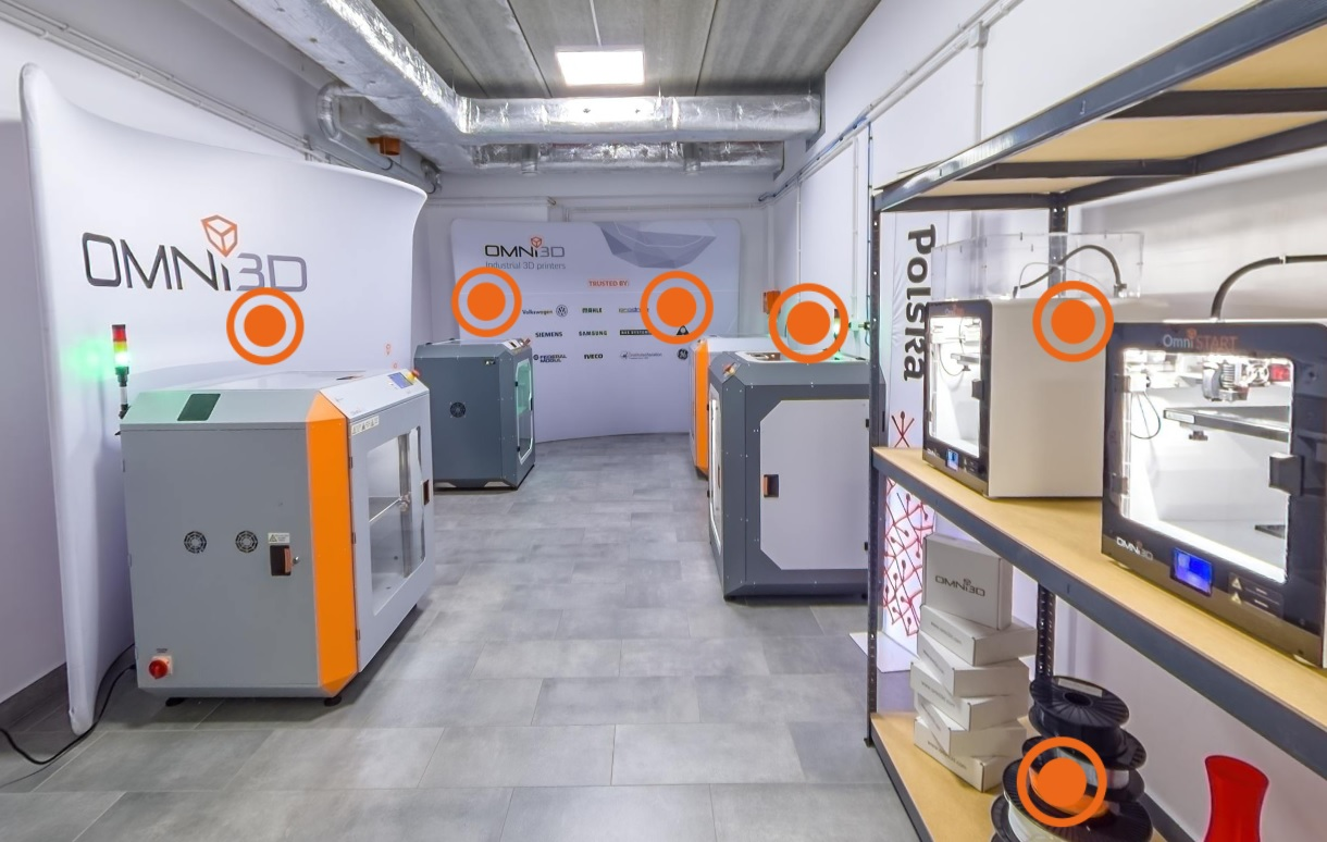 Omni3D Virtual Showroom