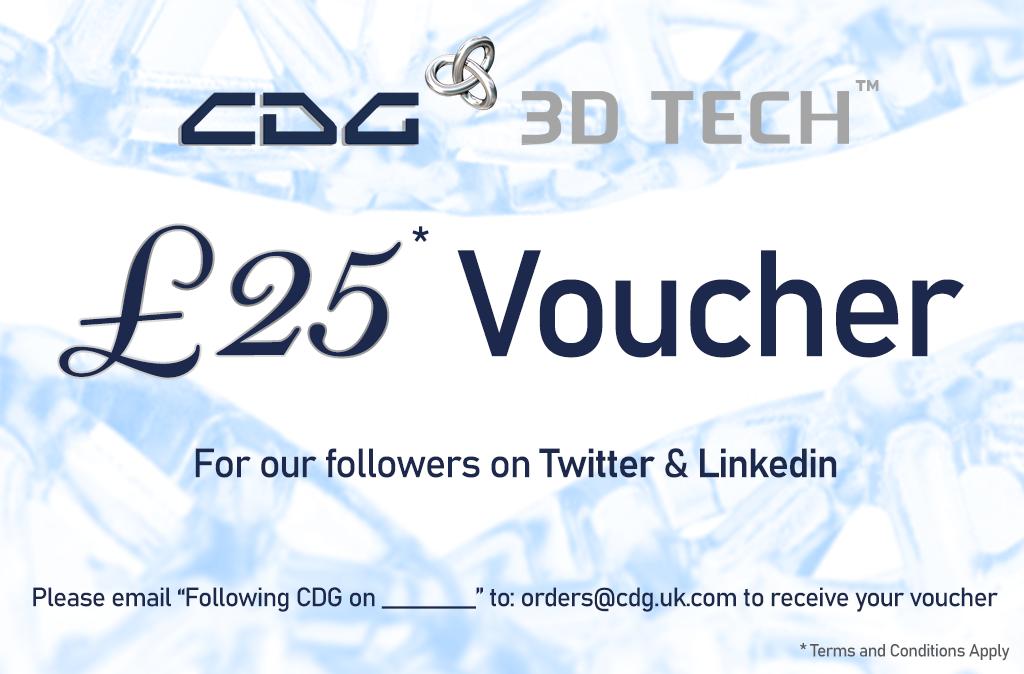 CDG £25 Voucher
