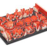 Jewel Red wax for ProJet 2500W 3D printer