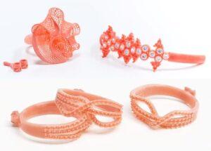 Jewel Red wax samples parts